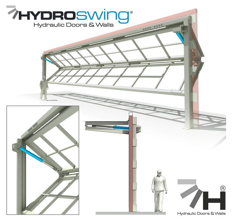 Etonnant Hydroswing® Hydraulic Doors | Everything You Need To Know About Hydraulic  Doors For Aviation, Agriculture, Industrial U0026 Architectural Use