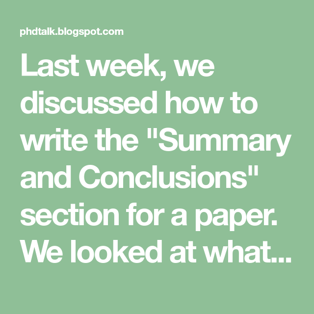 How to write a dissertation in a week