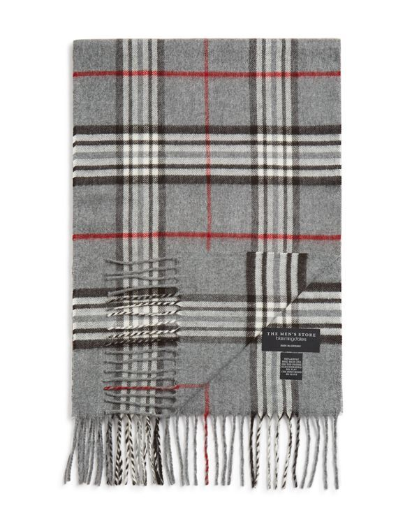 The Men's Store at Bloomingdale's Plaid Scarf