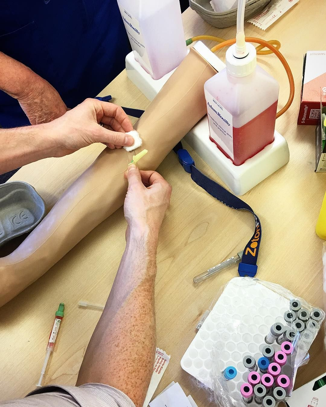 Venepuncture training in york on wednesday with our trainers deb for more course information contact traininghaxbygroup venepuncture phlebotomy training hull york xflitez Choice Image