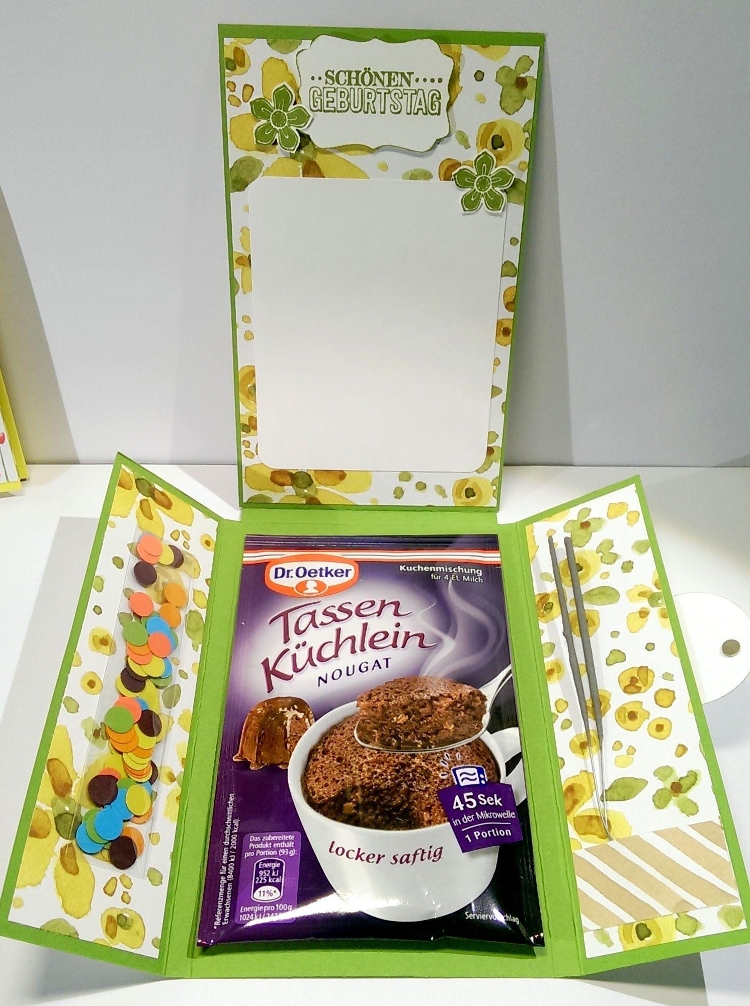 anleitung tassenk chlein karte mit stampin 39 up boxes and gifts tutorials karten tassen. Black Bedroom Furniture Sets. Home Design Ideas