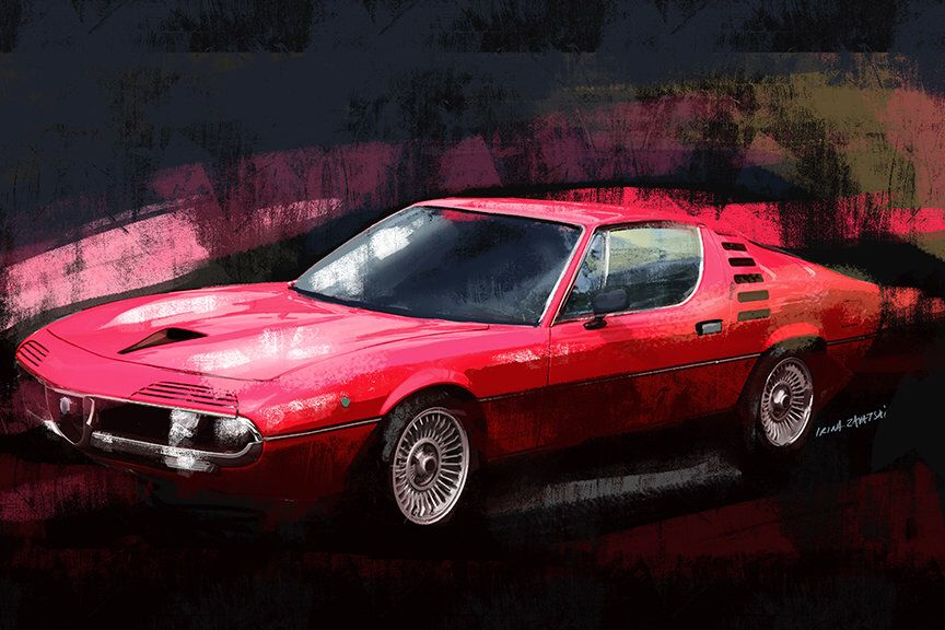 Alfa Auto Insurance >> Pin On Automotive Art