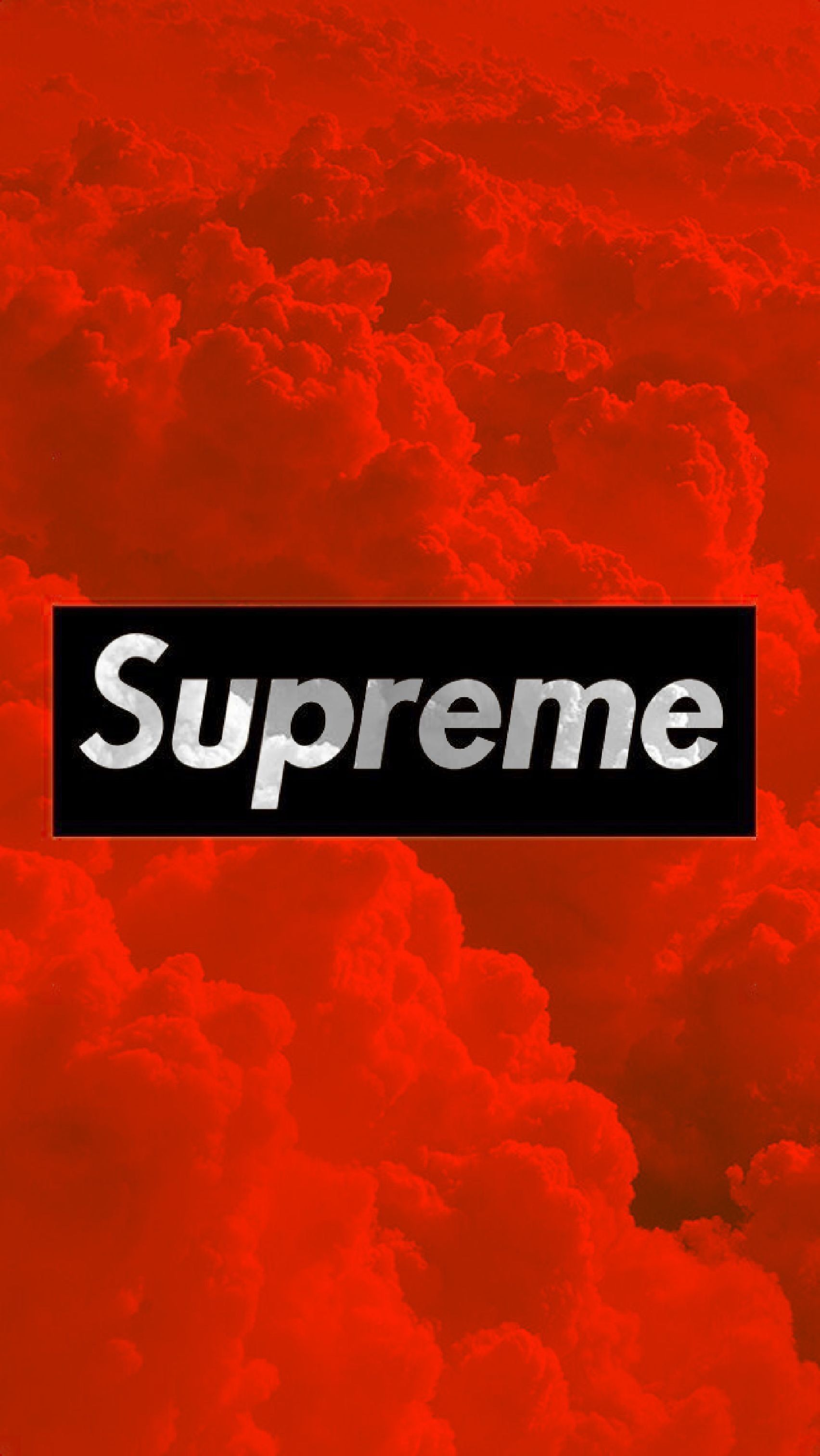 Awesome Red Supreme Wallpaper in 2020 (With images