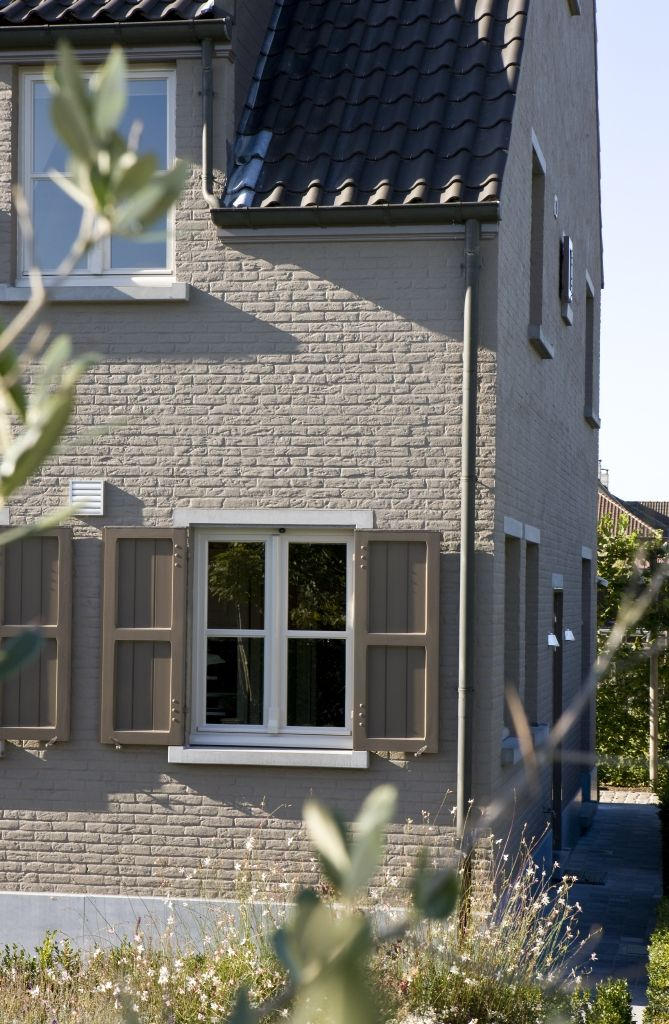 gevel #schilderen #facade #paint #peinture #verf #exterior - Huis ...