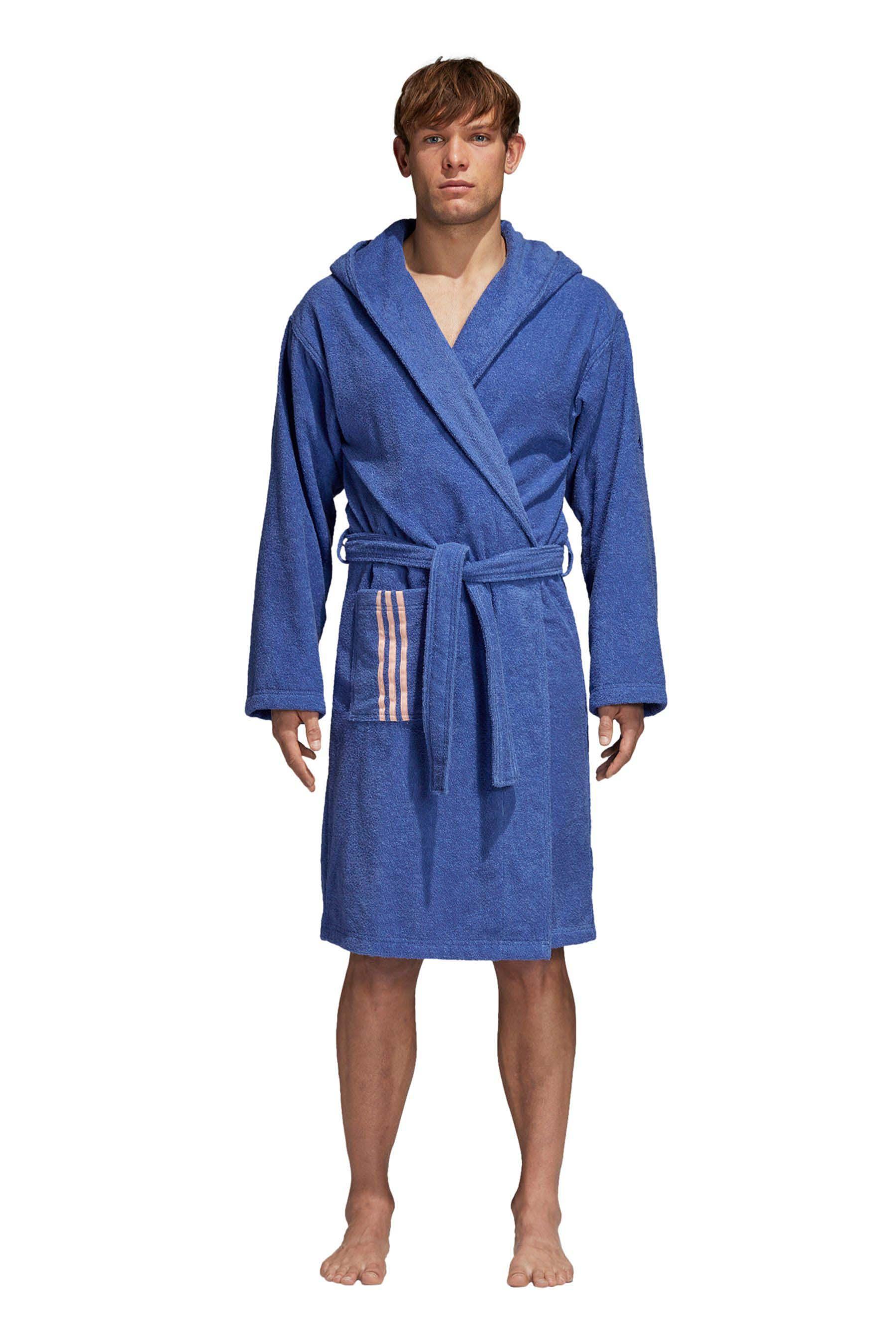 Womens adidas Blue Bathrobe Purple   Blue adidas, Adidas