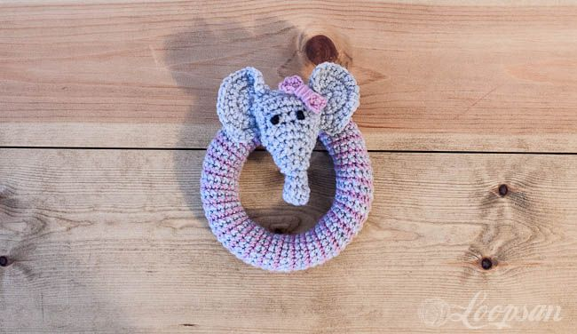 Amigurumi Rattle Free Pattern : Grace the little elephant rattle free pattern free pattern