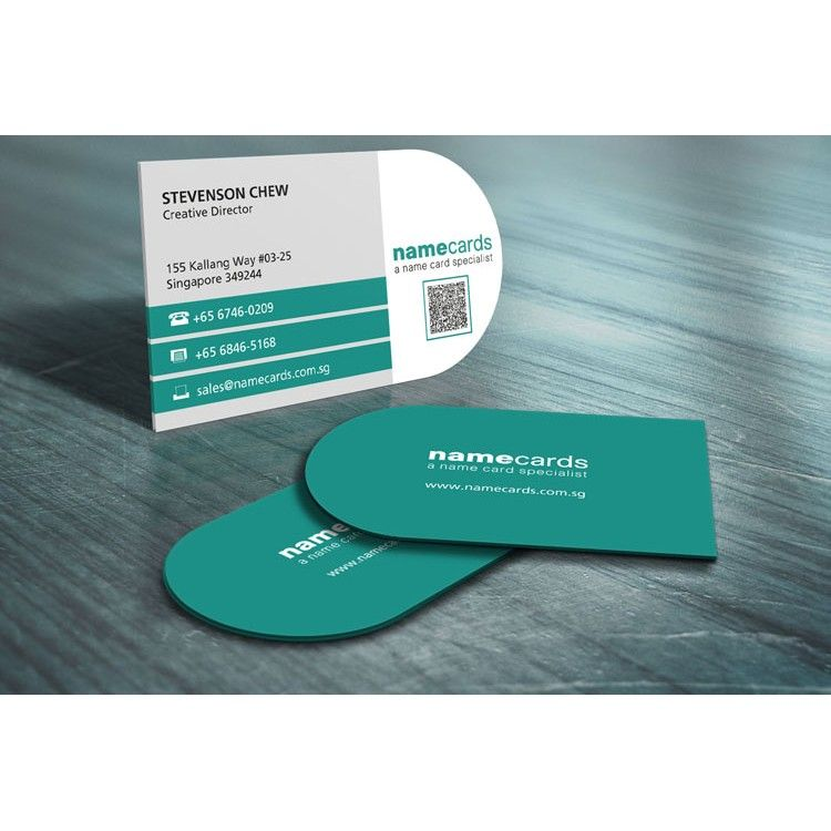 Diecut name cards 2 colour pms offset printing round corner 2 colour diecut name card any shape available or rounded corner cards all with lamination coating quality guaranteed for every diecut printed namecard reheart Gallery