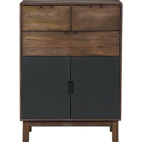 stash tall chest in bedroom furniture CB2 furniture Pinterest