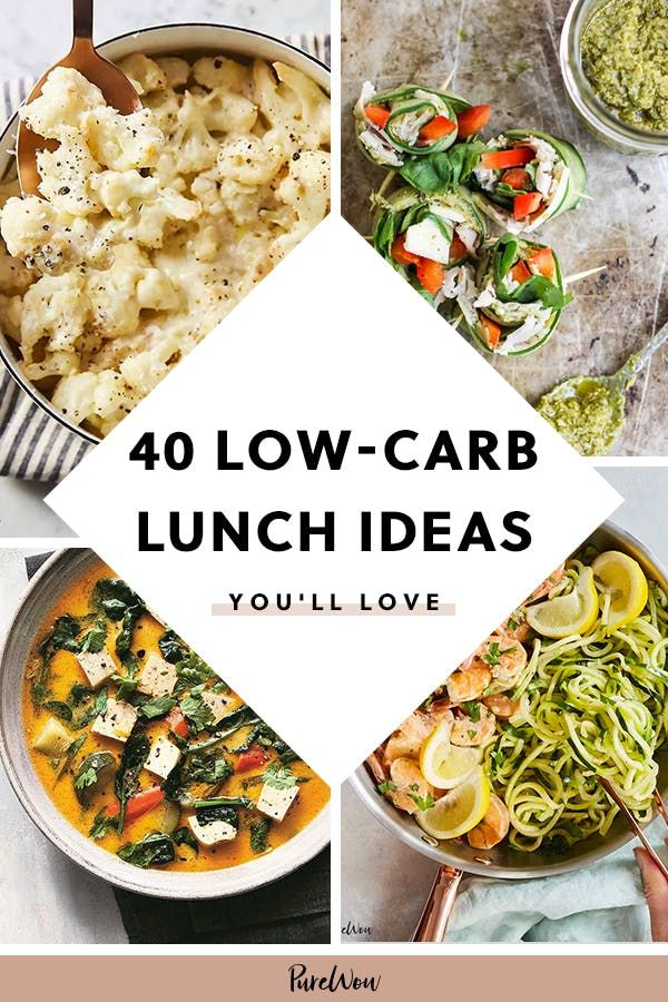 40 Low-Carb Lunch Ideas You (and Your Waistline) Will Love
