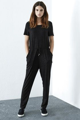 Check out this Sparkle Jumpsuit from Warehouse.