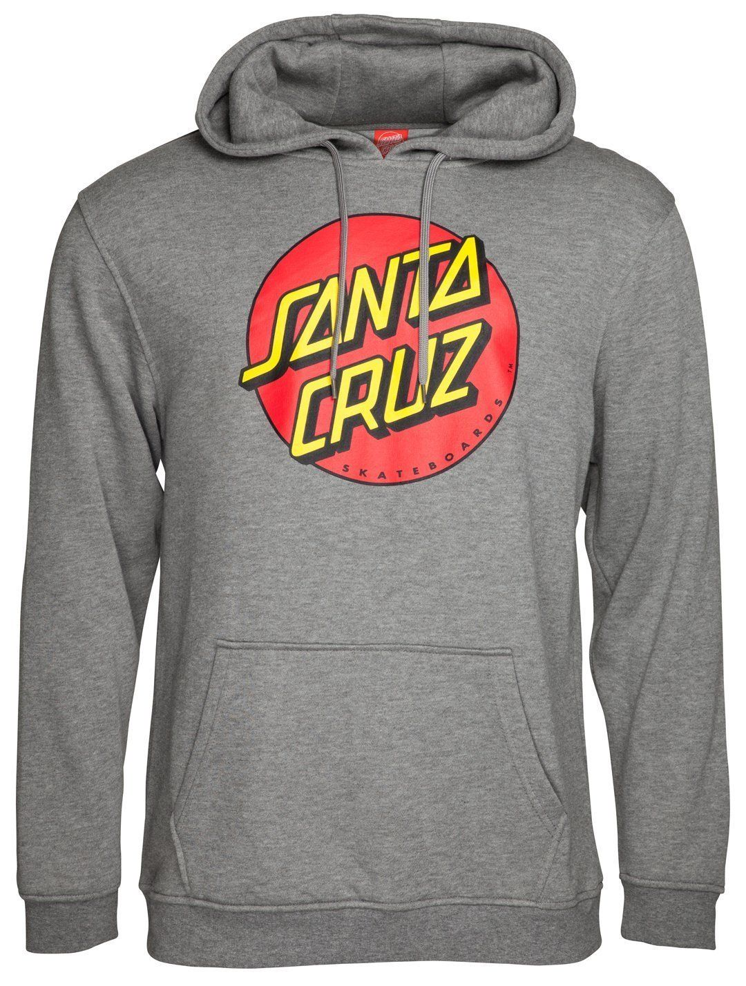 5d21825b8 Santa Cruz Classic Dot Hoodie Dark Heather in 2019 | awesome name ...