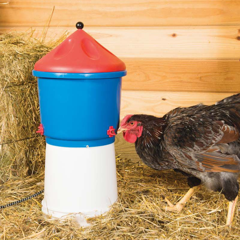 Heated Poultry Waterer Chicken Coop Winter Poultry Chicken Farmers