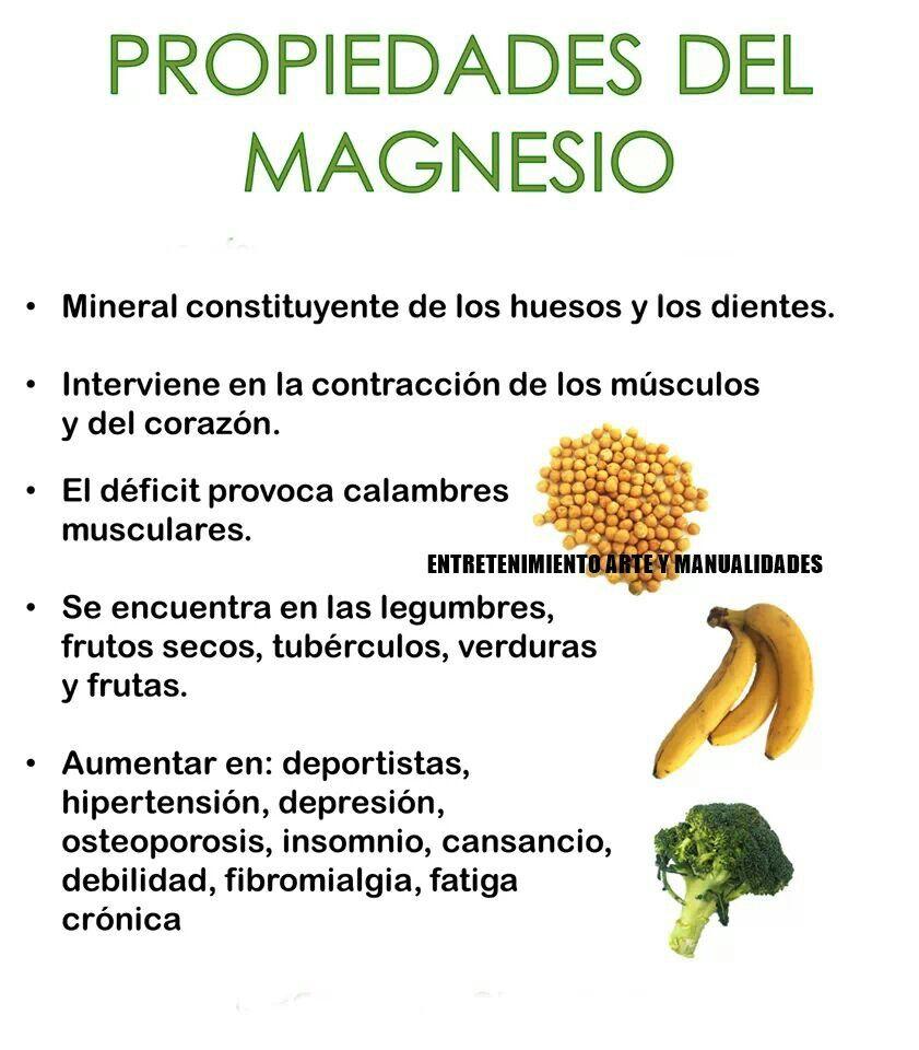 propiedades de magnesio para la salud