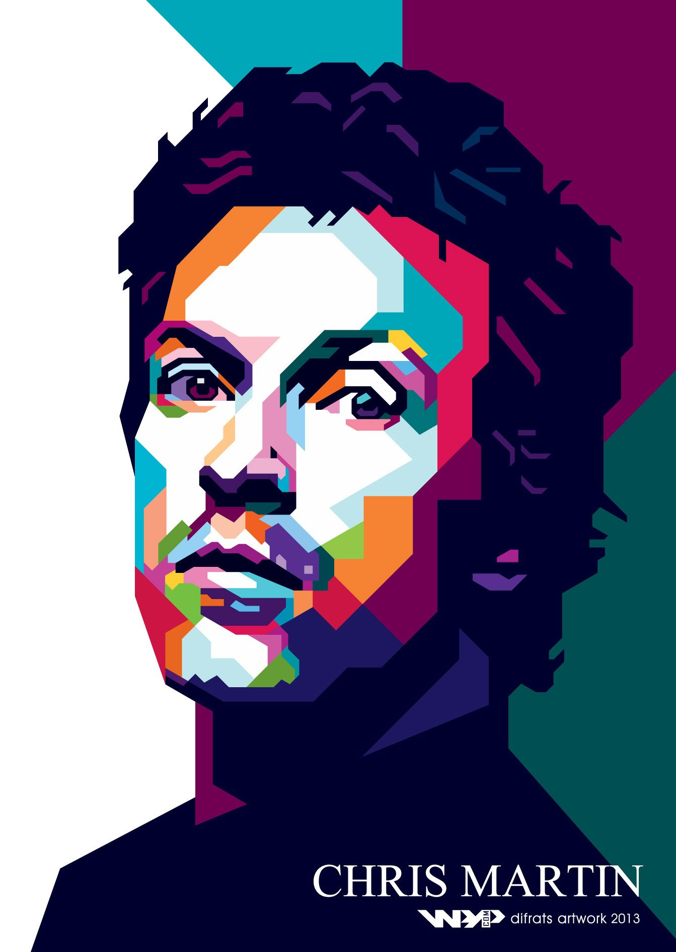 Get Inspired For Pop Art Vector Portrait