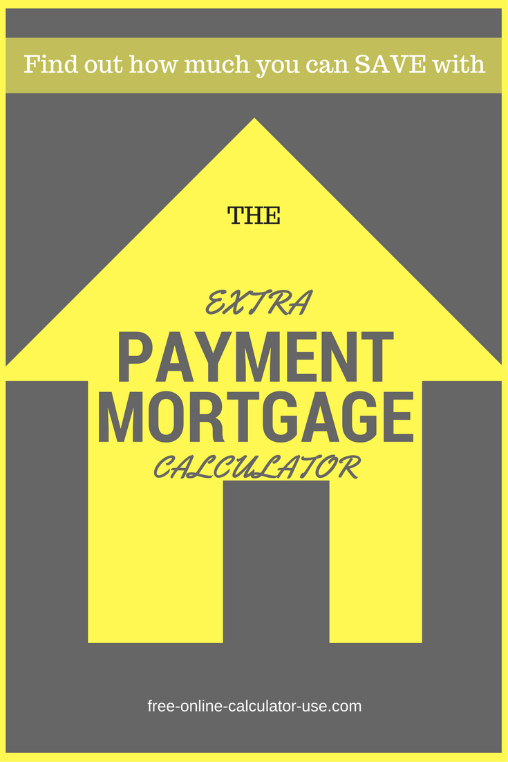 mortgage calculator with extra monthly payment