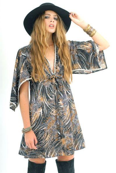Starburst Butterfly Dress