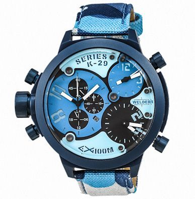 71% Off the Welder K29 Triple Time Zone Chronograph Men's Watch from U-Boat – UrbanDaddy Perks