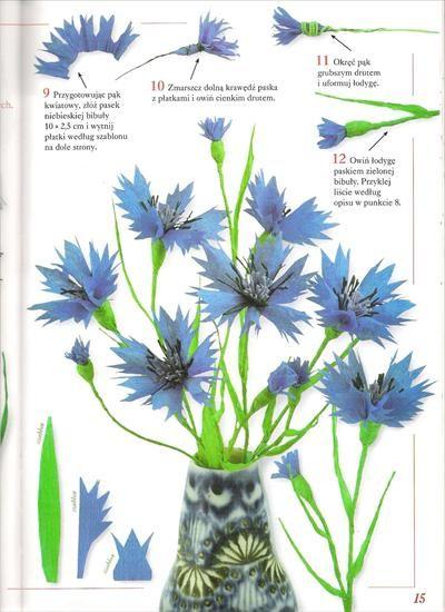 Kwiaty Z Bibuly Bibula Halszka64 Chomikuj Pl Strona 3 Plants