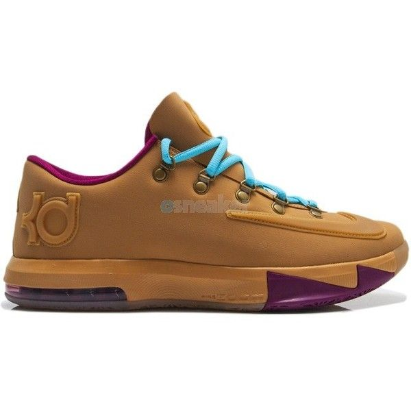 best service 7f3bf 5a33f Nike KD VI (6) EXT QS Gum ❤ liked on Polyvore featuring shoes, sneakers,  jordan, kd and nike