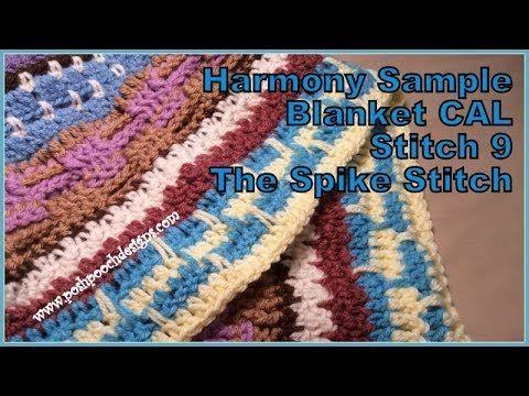 Harmony Sample Blanket Crochet Along Haken Crochet You Tube