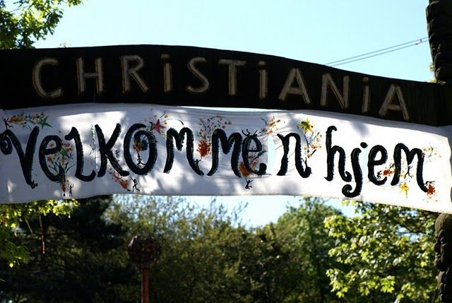Christiania, Copenhagen, Denmark - Not that I love the place, but it's just very interesting from many different perspectives.