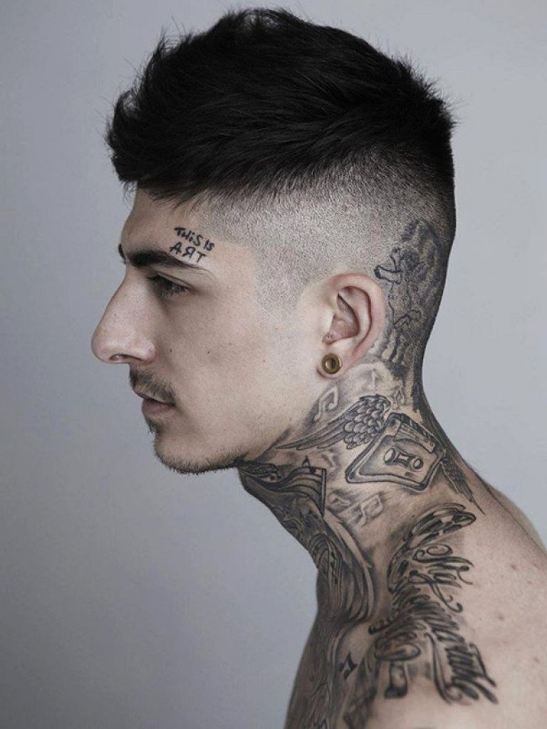 f1b14c333 50 Awesome Neck Tattoos Art And Design with regard to Tattoo On Neck  #Tattoosonneck