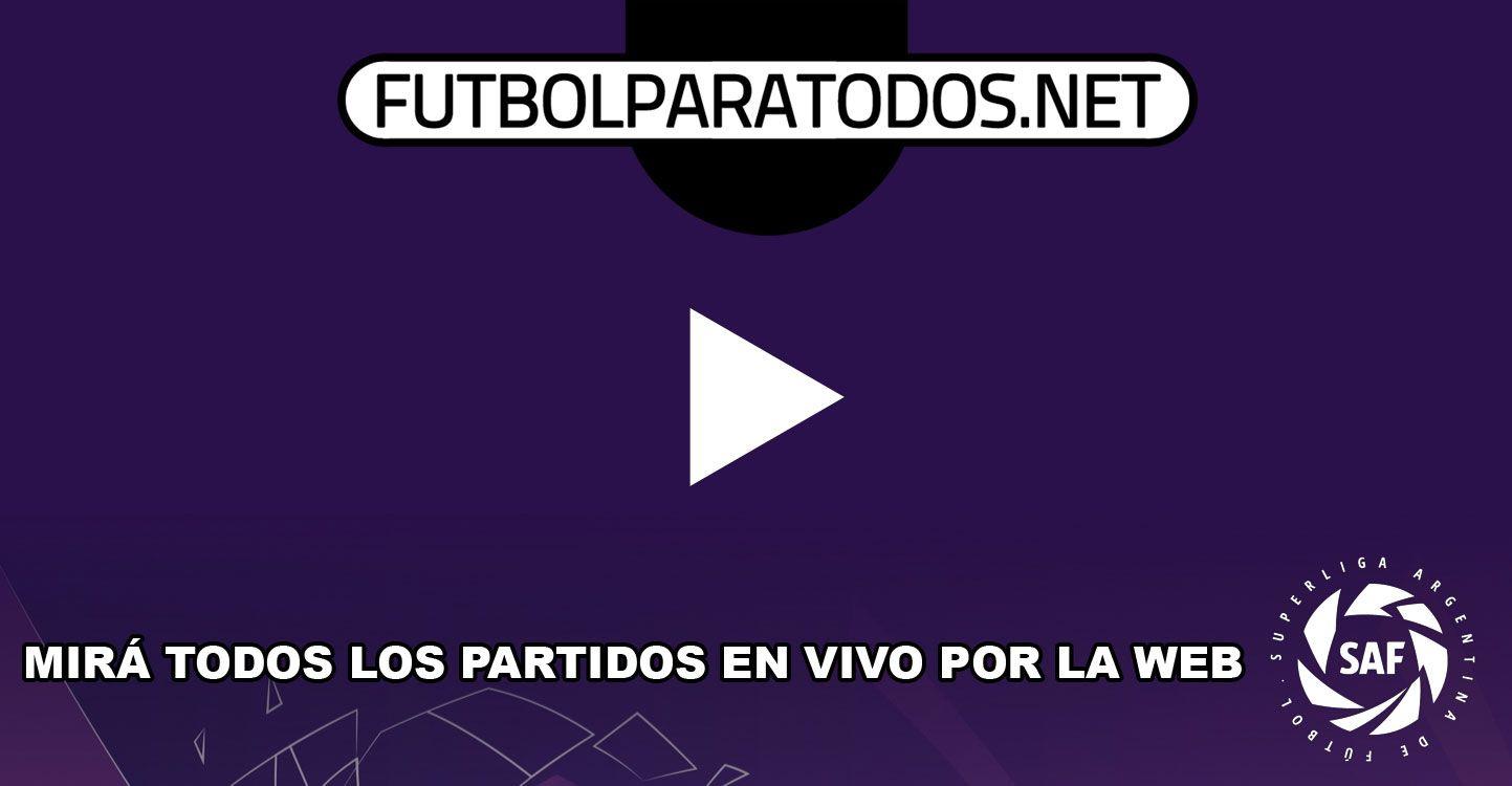Mirá a purgo gol todos los partidos de la Superliga