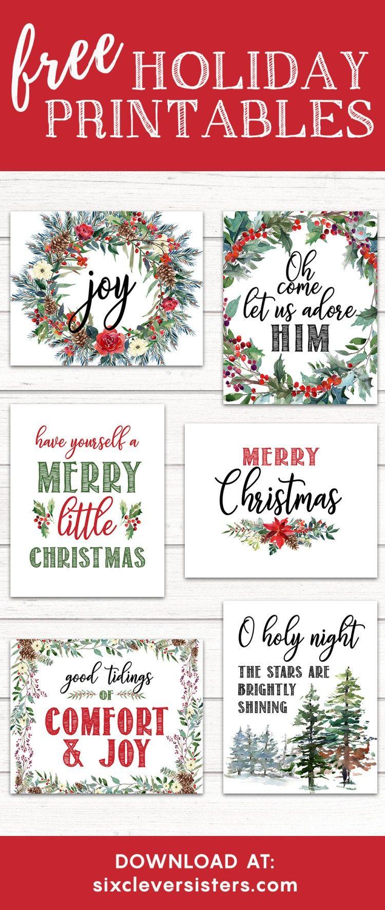 Free Christmas Printables Buffalo Plaid Check | Merry christmas banner, Christmas banners, Free ...