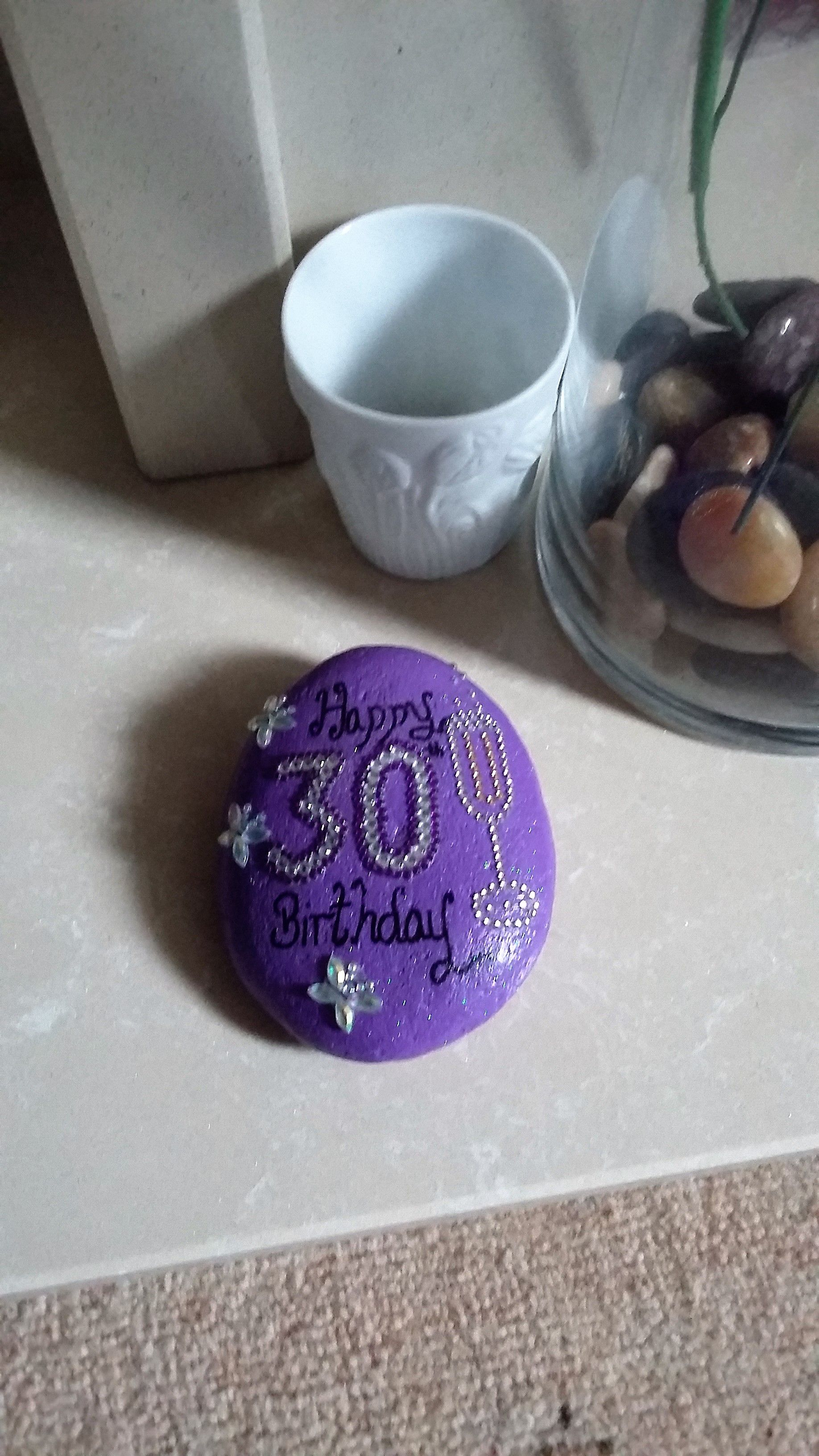 30th Birthday Celebration Stone Gifts Keepsake Click Here For