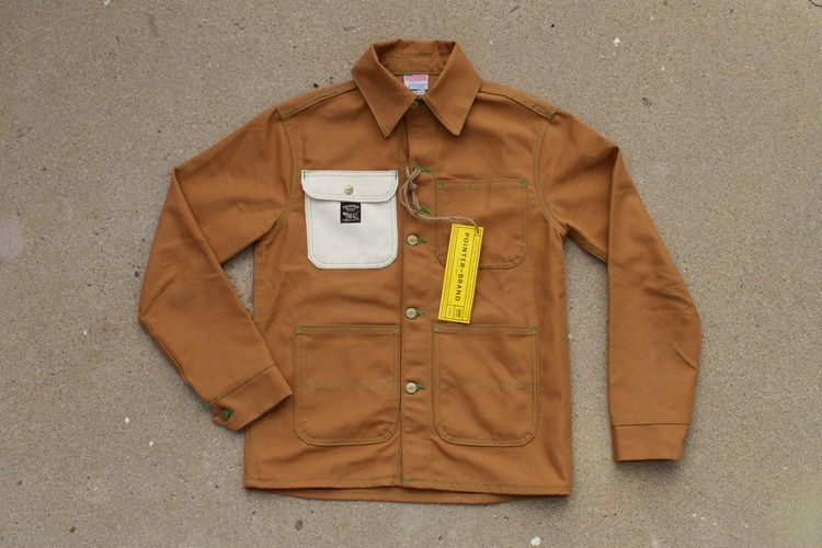 eaaee05a8f9 Pointer - Double Needle Chore Jacket Duck Canvas (Snake Oil Provisions  EXCLUSIVE) cool as all hell.