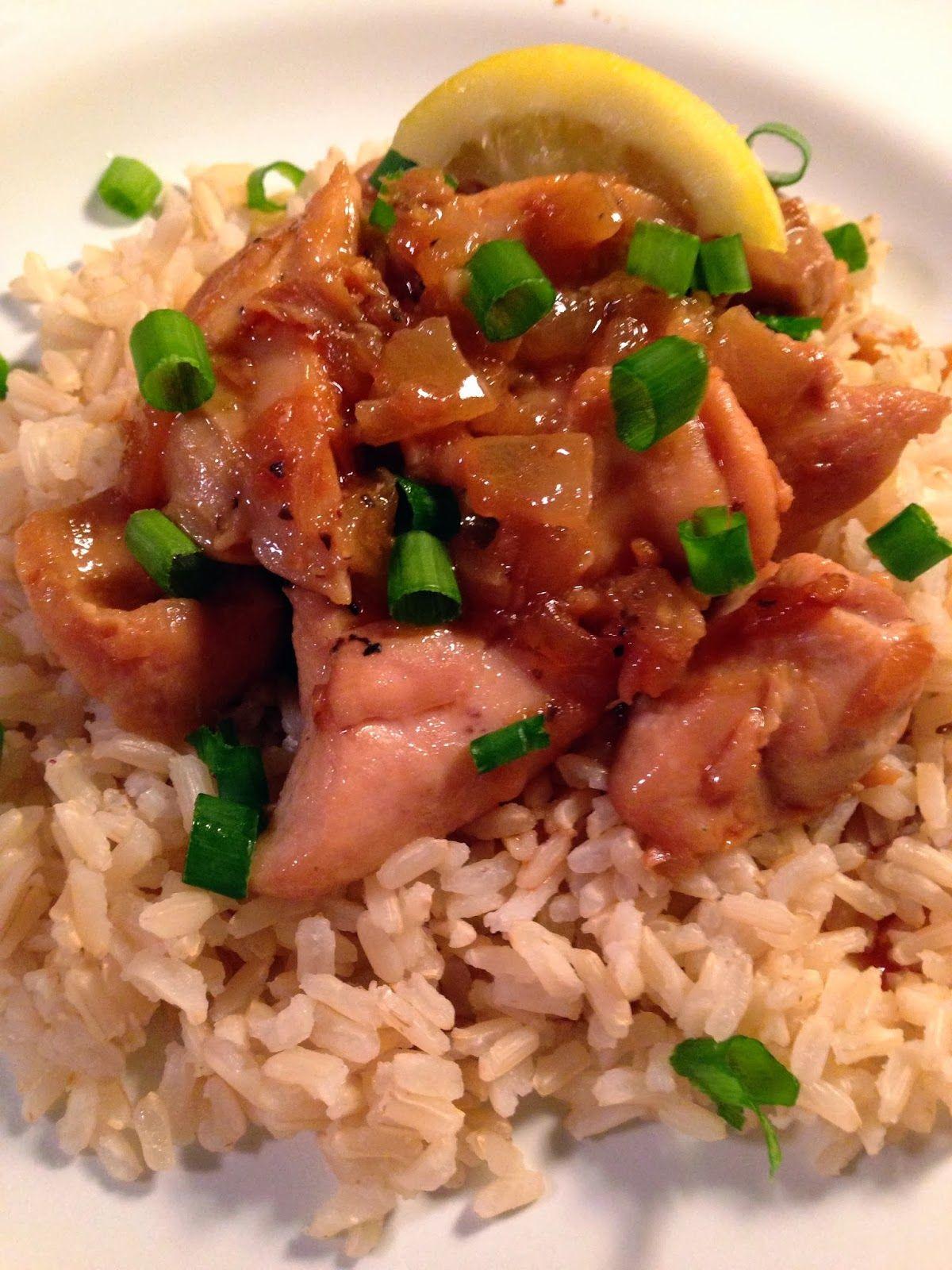 simple & healthy dinner: lemon chicken stir-fry