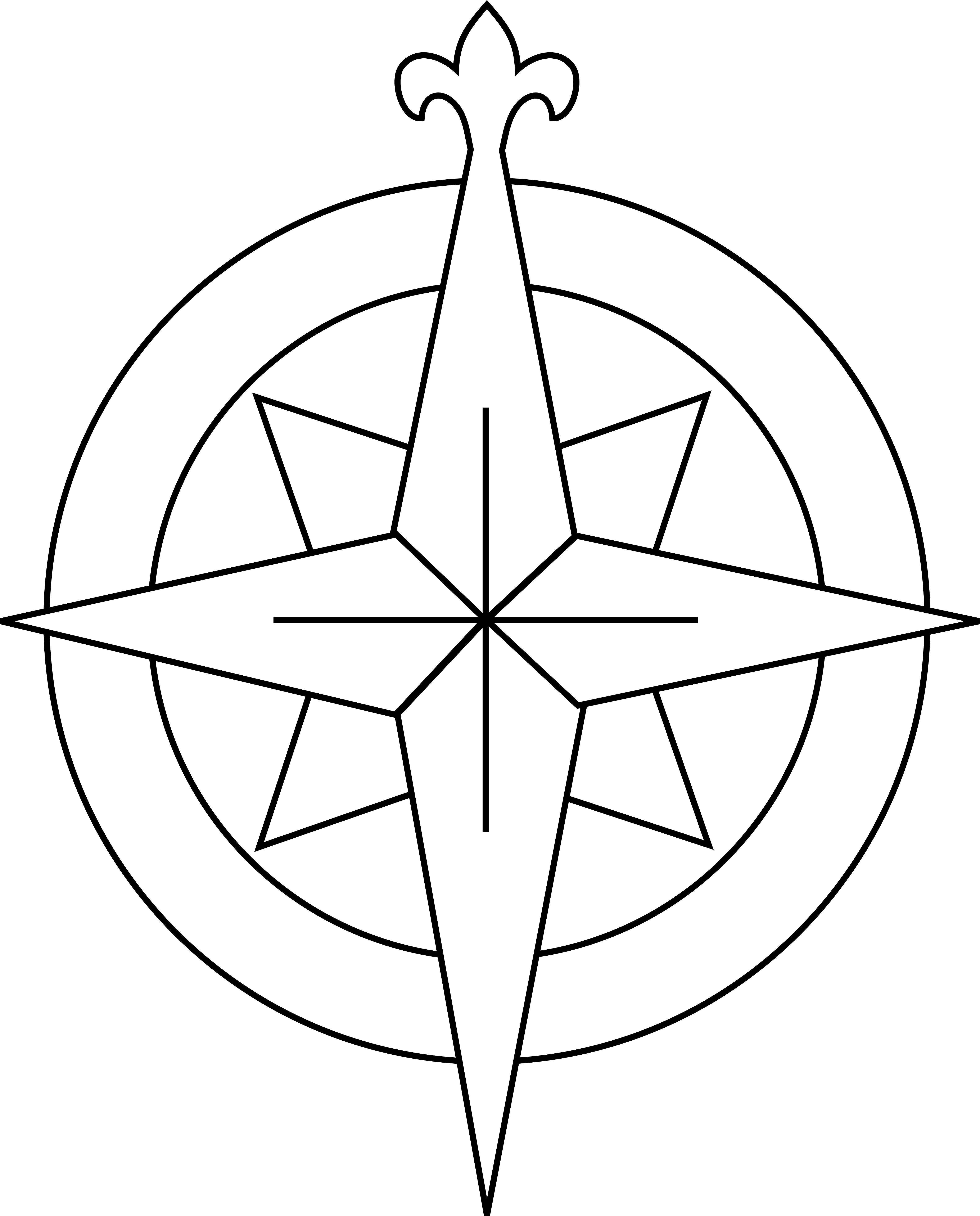 Compass Rose Pattern