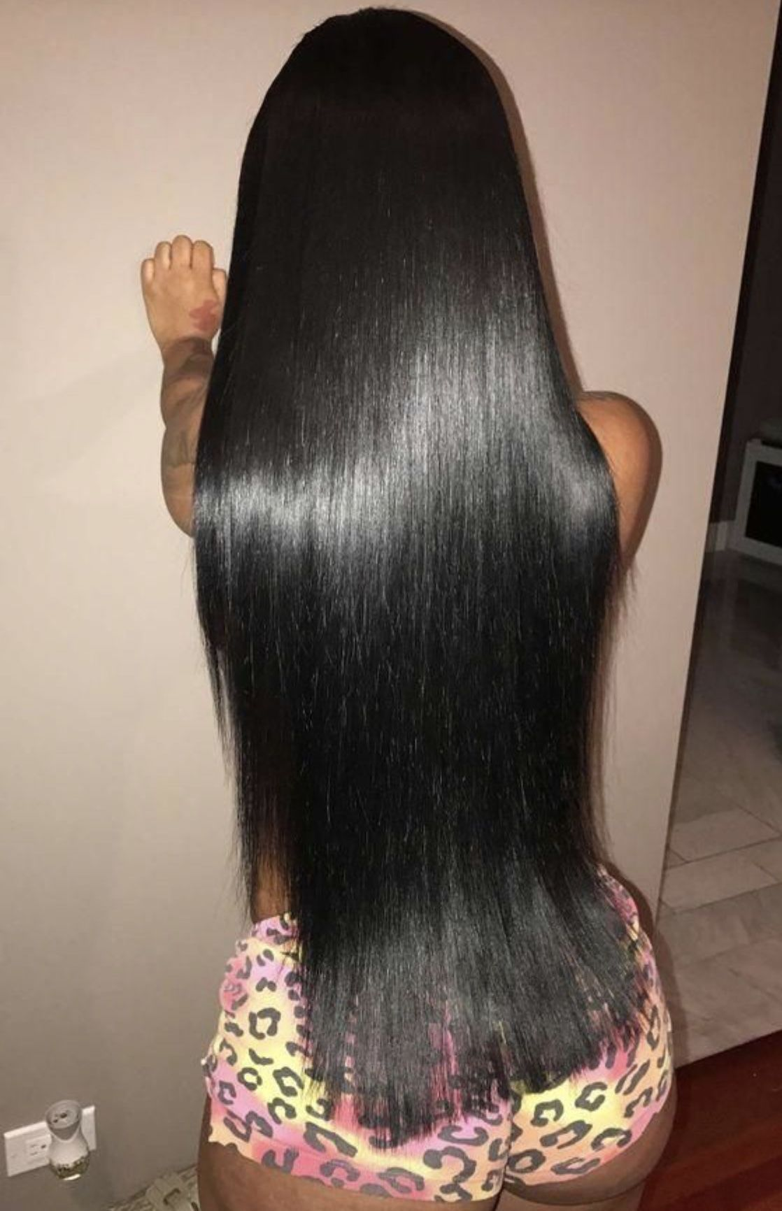 Weave Hairstyles Sew In For Black Women Black Long Hair With Closure Straight Nat Straight Weave Hairstyles Straight Hairstyles Brazilian Straight Hair Weave