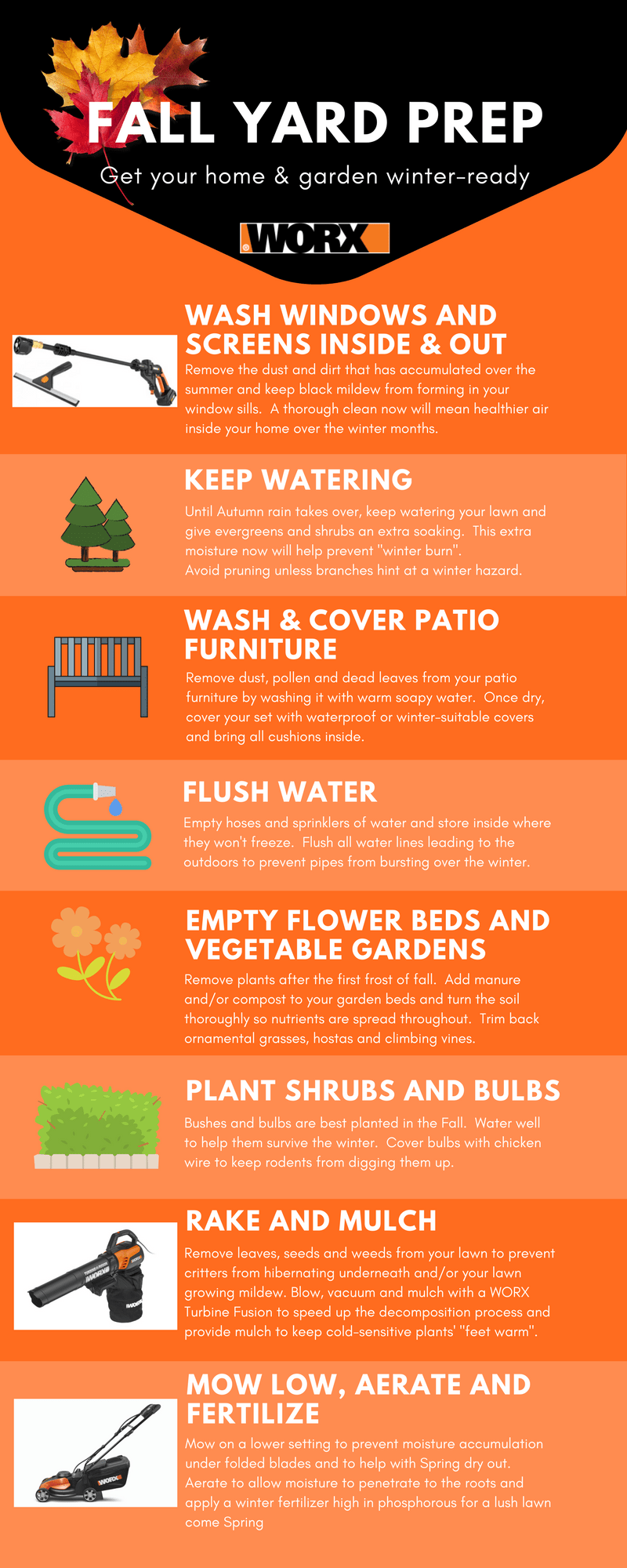 fall yardwork checklist prep now for gorgeous results in spring