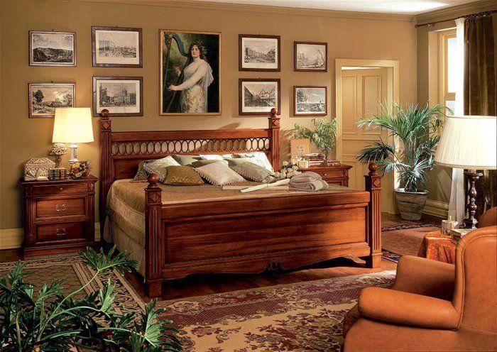 Chambre Moderne Massif : Chambre-a-cocuher-lit-en-bois-massif ...