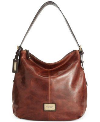 Tignanello Classic Beauty Vintage Leather Hobo Macys Handbags
