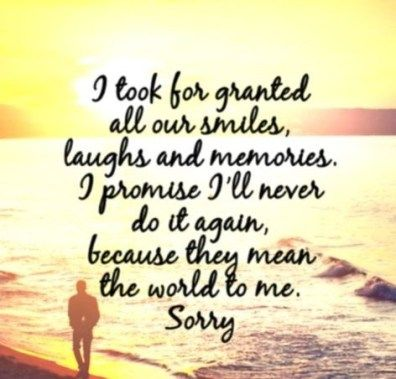 Sorry Quotes For Her Beauteous I'm Sorry Quotes  Baby  Pinterest