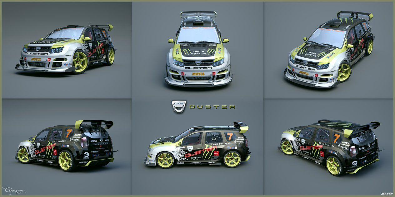 Dacia duster tuning 32 by cipriany on deviantart project for Caribe motor medellin