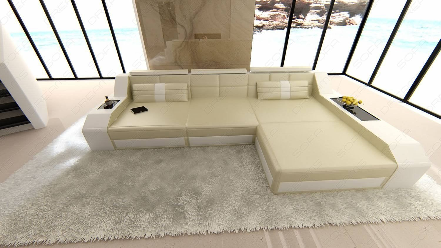 Sectional Leather Sofa Houston L Shape In 2020 Small Sectional Sofa Leather Sofa Modern Furniture Living Room