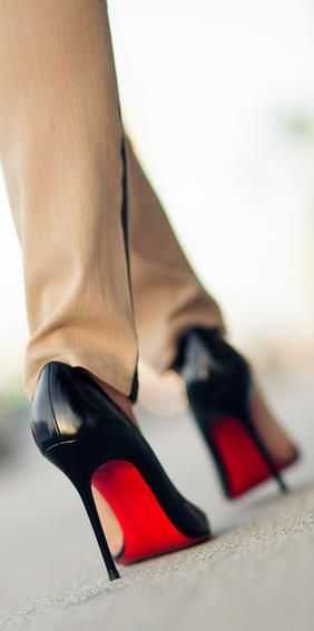 first pair christian louboutin shoes