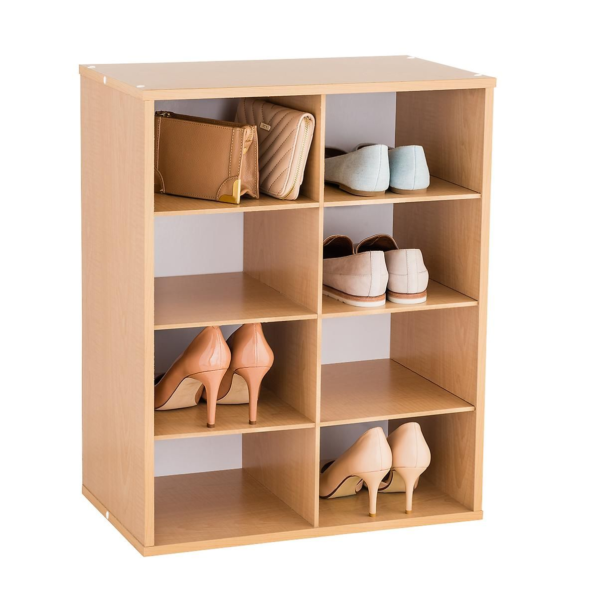 An Option For Shoes And Storage Right Next To The Back Door Purse Organization Mens Accessories