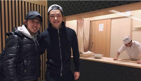 Takahito Mura(JAPAN) and Alex Shibutani(USA)