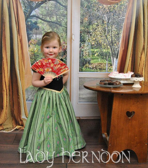Cinderella Princess Character Dress Child 3t 4t 5 6 7: My Fairy Tale: Anna's Coronation Dress From Disney's