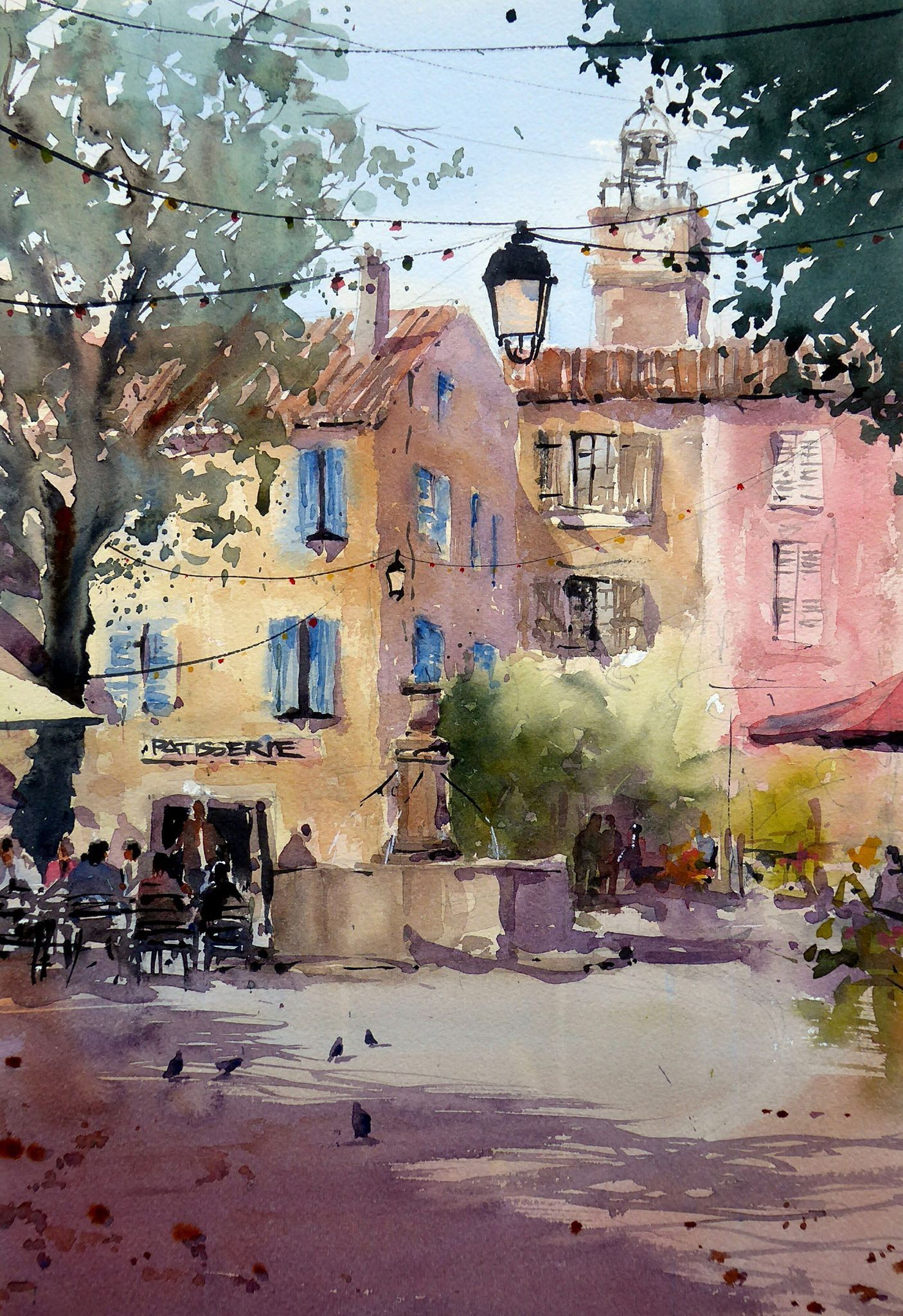 Grahame Booth Watercolour Pinterest Watercolor