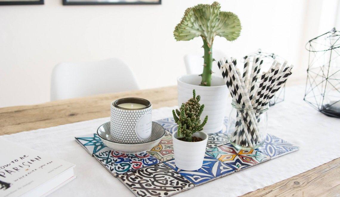 tiles - fliesen - spanisch - kaktus - cacti - interior - deco, Esszimmer dekoo
