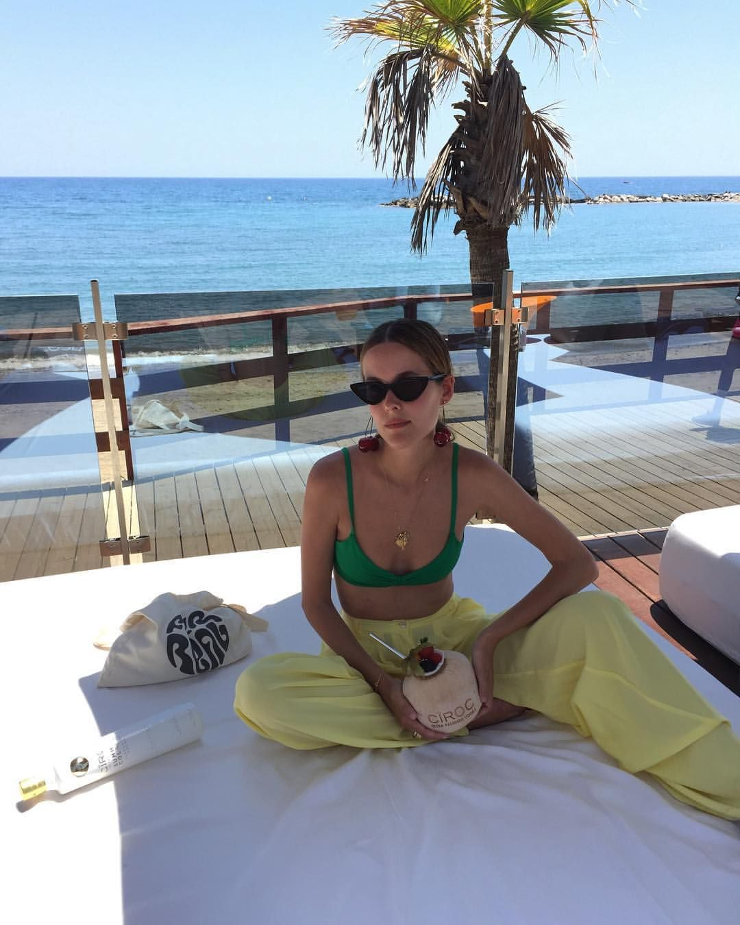 """Photo of Lucia Cuesta on Instagram: """"🍒 @cirocvodka #cirocsummercolada #cirocsummer #ad"""""""
