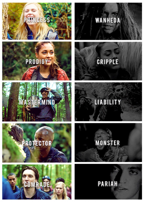 What they were What they have Part 2 The100