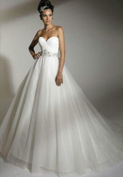 A fairytale princess dress