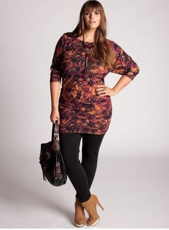 How To Wear Plus Size Leggings Winter Woman And Fashion
