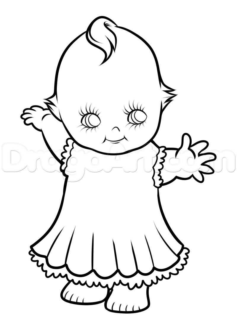 Kewpie doll drawing google search